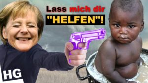 """Nix """"helfen"""" - MERKEL TÖTET Flüchtlinge mit ihrer Politik"""