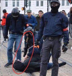 ActeXVIII Runde 18 Schlägertruppe von Macron immer brutaler !