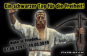 Ein schwarzer Tag für die Freiheit!