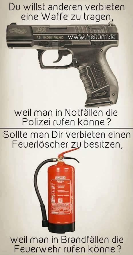 Feuerlöscher verbieten
