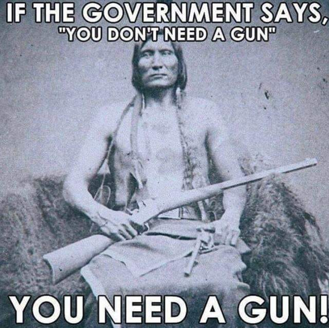 you need a gun !