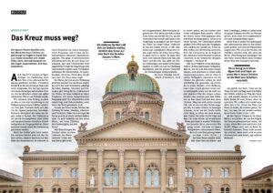 Bundeshaus ohne Kreuz