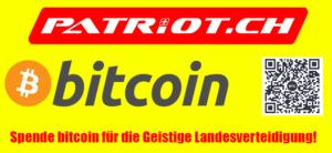 NEU! Spende bitcoin für die Geistige Landesverteidigung!