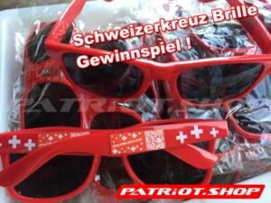 GEWINNSPIEL! Wir verlosen 20 Schweizerkreuz Brillen !