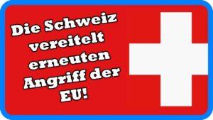 Börsenstreit: Die EU will die Schweiz unterdrücken – und verbrennt sich dabei die Finger!