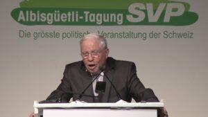 32. Albisgüetli Tagung: Rede Christoph Blocher