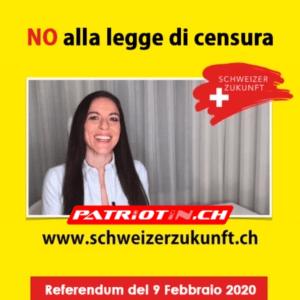 NO alla legge di censura del 9 febbraio 2020