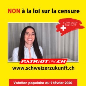 NON à la loi sur la censure le 9 février 2020