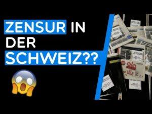 Wir haben 100 Gratiszeitungen am HB Zürich zensiert | Zensurgesetz NEIN
