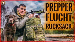 Flucht mit PREPPER NOTFALL RUCKSACK | ÜBERLEBEN im ERNSTFALL