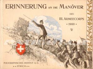 Heimatarchiv neues Buch: ERINNERUNG AN DIE MANÖVER – DES 3. ARMEECORPS 1900