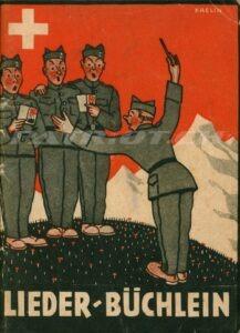 LIEDER-BÜCHLEIN - Soldaten und Kameraden dem Telephon- und Signalzug 1.-R. 21 und 1.-R. 48 angehörend