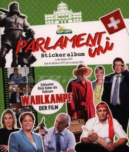 PARLAMENTini - Stickeralbum zu den Wahlen 2019 - SVP