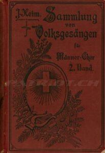 Sammlung von Volksgesängen für Männer-Chor 2. Band - Heim J.