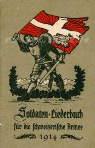 Soldaten - Liederbuch für die schweizerische Armee - 1914 - Schweizerisches Militärdepartement
