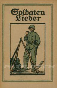 Soldaten Lieder - Heft 1 - Schweizerischen Gesellschaft für Volkskunde
