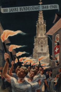 100 JAHRE BUNDESSTAAT 1848-1948 - SJW 300 - Aebli Fritz