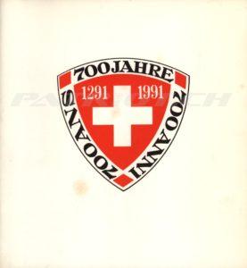 700 Jahre Eidgenossenschaft - 1291-1991 - Archiv-Edition