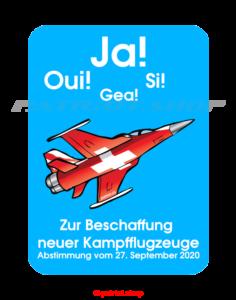 JA! OUI! SI! GEA! Zur Beschaffung neuer Kampfflugzeuge