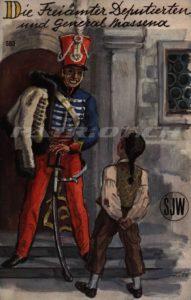 Die Freiämter Deputierten und General Massena - SJW 583 - Frey Jakob