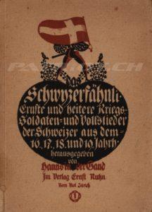 Schwyzerfähnli - Band 1 - 1. Auflage - In der Gand Hanns