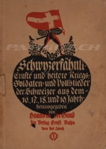 Schwyzerfähnli - Band 1 - 2. Auflage - In der Gand Hanns