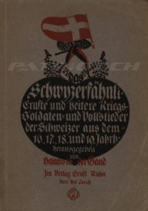 Schwyzerfähnli - Band 2 - 1. Auflage - In der Gand Hanns