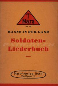 Soldaten-Liederbuch - 3. erweiterte Auflage - In der Gand Hanns