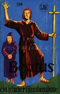 Beatus ein irischer Glaubensbote - Legende zur Christianisierung der Schweiz - SJW 578 - Streit Jakob