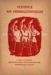 FESTSPIELE AM VIERWALDSTÄTTERSEE - X. und XI. Jahrbuch - Gesellschaft für schweizerische Theaterkultur