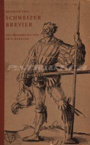 SCHWEIZER BREVIER - 1956 - Frey Heinrich