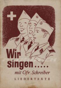 Wir singen ..... mit Gfr. Schreiber - Ausgabe 02.1957