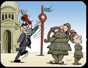 Wilhelm Tell vs. Bundesrat NO MASK!
