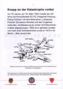 75 Jahre Zugerseebomber - Rickenbacher Oskar