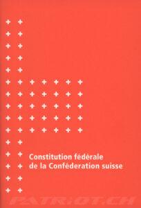 Constitution fédérale de la Conféderation suisse - 1999