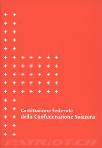 Costituzione federale della Confederazione Svizzera - 1999