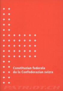 Constituziun federala da la Confederaziun svizra - 1999