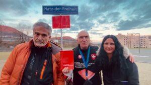 Stiller Protest - Interview mit Dr. Manuel Albert, Albert Knobel und Melanie - Liestal, BL -20.03.21
