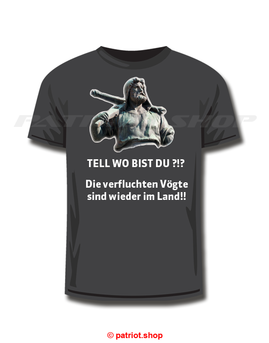 TELL WO BIST DU ?!? T-Shirt, Hoodie & Pullover gib es auf patriot.shop