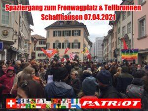 Spaziergang zum Fronwagplatz & Tellbrunnen in Schaffhausen