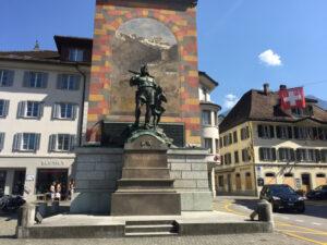 Wilhelm Tell Denkmal - Altdorf Uri