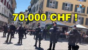 70.000 CHF für externe Polizei in Solothurn gegen eine Handvoll Bürger!
