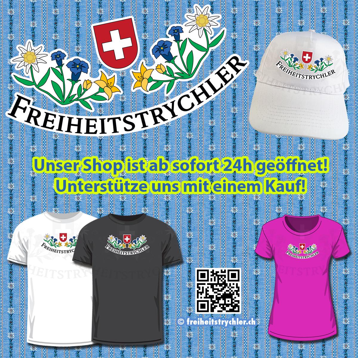 FREIHEITSTRYCHLER Shop ist online!