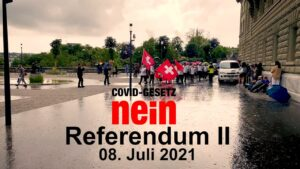 Covid Gesetz NEIN - Referendum II