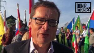 SVP Nationalrat Roger Köppel über die Freiheitstrychler