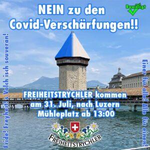 FREIHEITSTRYCHLER kommen auch nach Luzern!