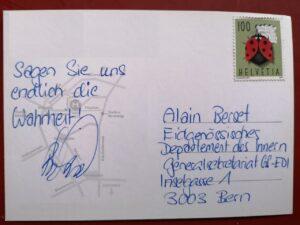 Bundesrat Alain Berset sagen sie uns endlich die Wahrheit!