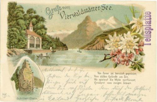 #wilhelmtell #tellskapelle #tellsplatte #schwyz #postkarte