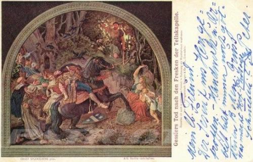 #wilhelmtell #gessler #hohlegasse #tellskapelle #postkarte