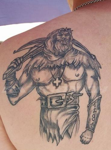 #tattoo #tattoos #wilhelmtell #schweizerkreuz